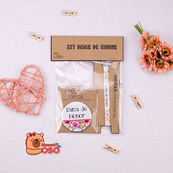 Mini kit dama de honor primavera