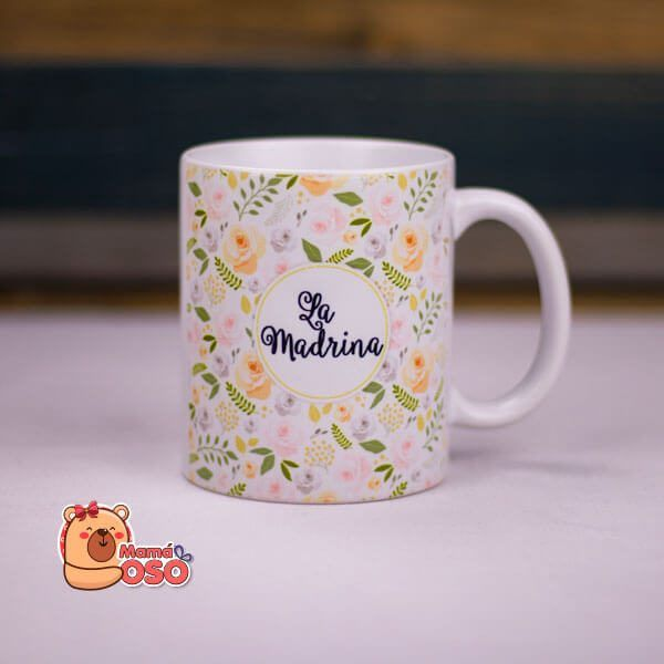 taza madrina boda
