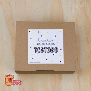 caja kit testigo de boda
