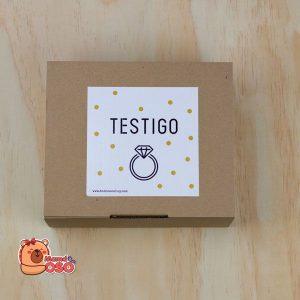 caja testigo de boda