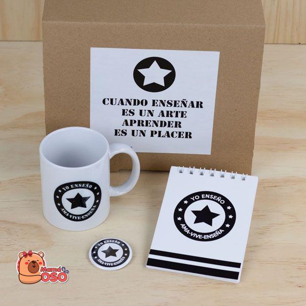 kit regalo para maestros y profes estrella
