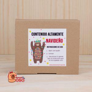 Kit regalo navidad OSITO NAVIDEÑO