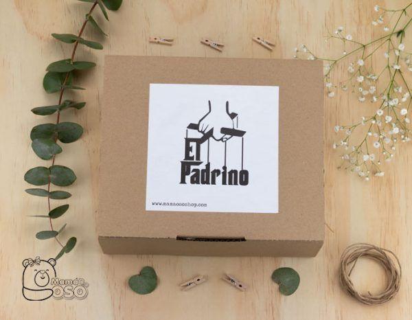 Kit regalo boda el padrino logo