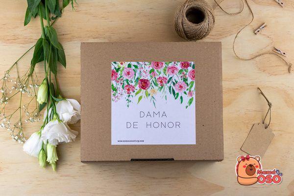 Caja kit dama de honor garden