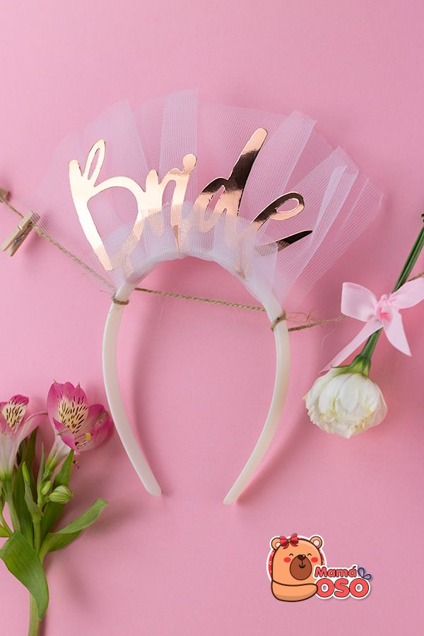 Diadema Bride despedida de soltera