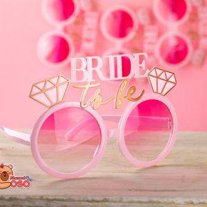gafas para la novia