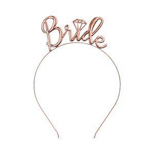 diadema bride en oro rosa