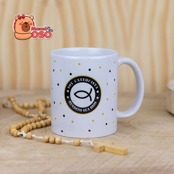 Taza catequista BENDITO SEA DIOS