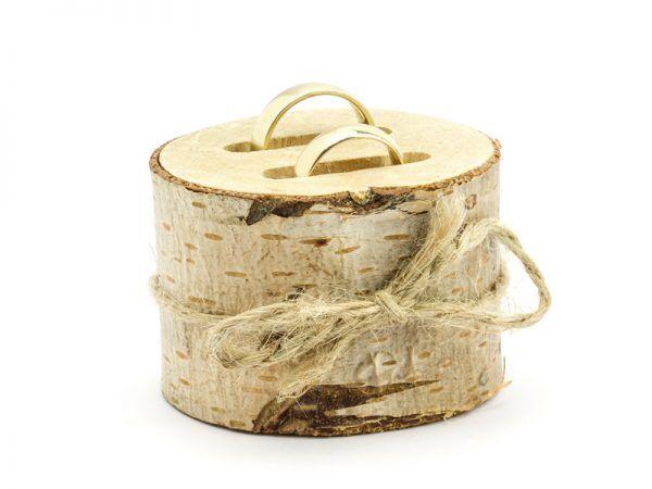 Porta alianzas madera TRONQUITO