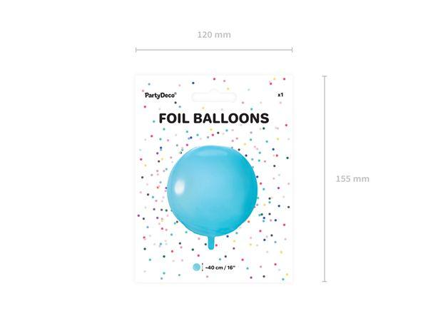 globo foil party deco