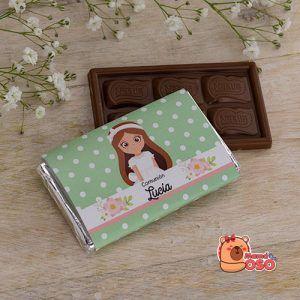 chocolatina personalizada comunión