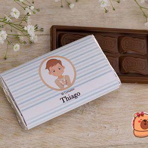 chocolatina personalizada comunión niño marinero