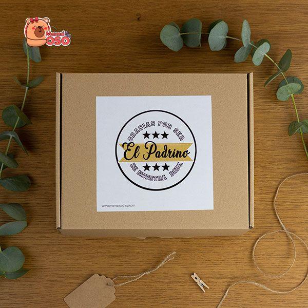 Kit regalo para el padrino de boda vintage