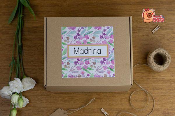 Kit para madrina de Boda personalizado